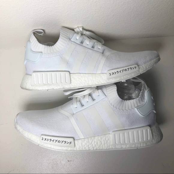 Adidas Shoes Nmd R1 Triple White Japan Mens 13 Rare Poshmark
